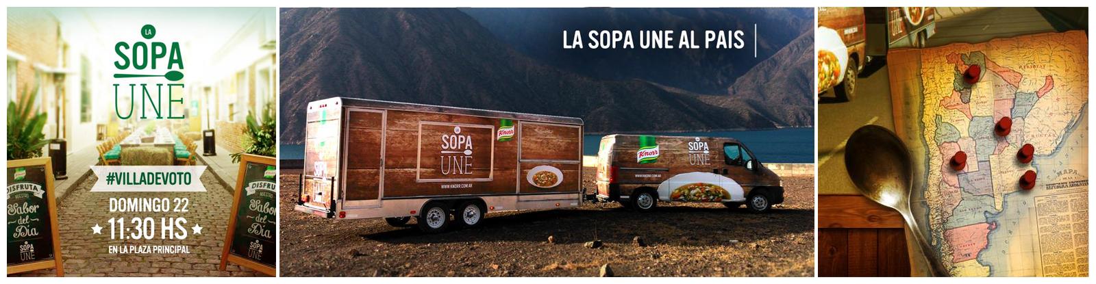 La Sopa une